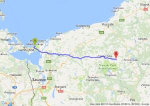 Międzyzdroje (zachodniopomorskie) - Barwice (zachodniopomorskie)