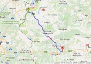 Trasa Gryfino - Trzciel