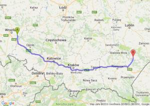 Jelcz-Laskowice (dolnośląskie) - Tarnogród (lubelskie)
