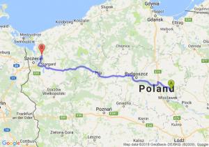 Trasa Lipno - Goleniów