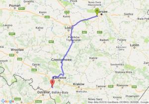 Trasa Pruszków - Żory