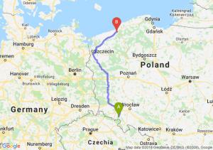 Trasa Wałbrzych - Koszalin