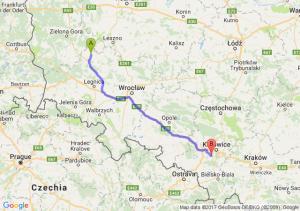 Trasa Głogów - Mikołów