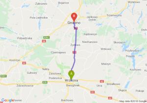 Trasa Września - Gniezno