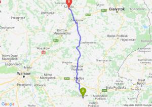 Trasa Łuków - Łomża
