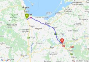 Trasa Straszyn - Ostróda