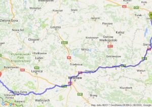 Uniejów - Lubań