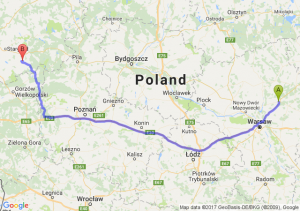 Wyszków - Choszczno