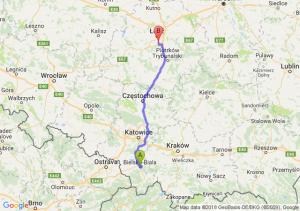 Trasa Bielsko-Biała - Rzgów