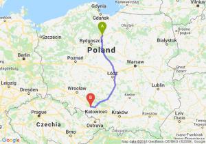 Trasa Grudziądz - Krapkowice