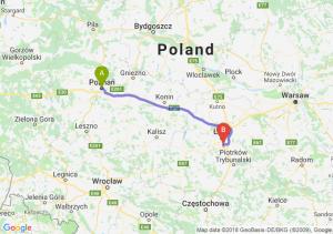 Trasa Poznań - Rzgów