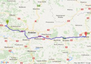 Trasa Trzebinia - Tarnów