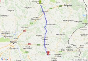 Trasa Łomża - Łuków