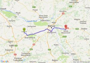 Trasa Łowicz - Mińsk Mazowiecki