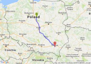 Trasa Lipno - Rzeszów