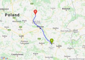 Trasa Puławy - Ciechanów