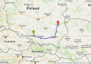 Trasa Zabrze - Lublin
