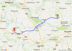 Trasa Płońsk - Konin