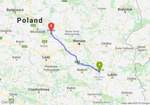 Trasa Puławy - Płock