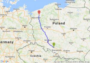 Trasa Dąbrówka Górna - Łobez