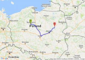 Trasa Białe Błota - Ostrów Mazowiecka