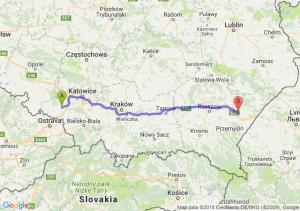 Trasa Rybnik - Jarosław