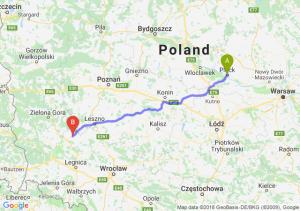 Trasa Płock - Głogów