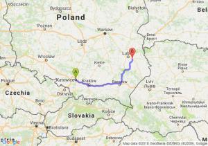 Trasa Katowice - Piaski
