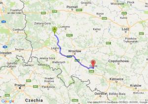 Trasa Głogów - Opole