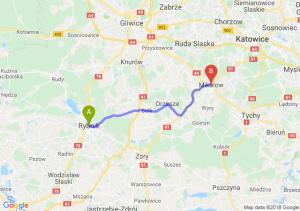Trasa Rybnik - Mikołów
