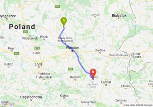 Trasa Ciechanów - Puławy
