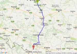 Trasa Włocławek - Żory