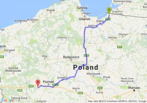 Braniewo (warmińsko-mazurskie) - Opalenica (wielkopolskie)