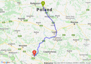 Trasa Toruń - Opole