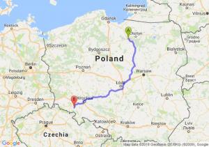 Trasa Ostróda - Świebodzice