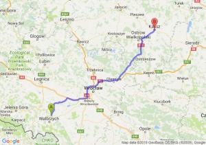 Trasa Świebodzice - Kalisz