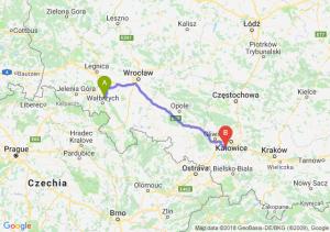 Trasa Świebodzice - Mikołów