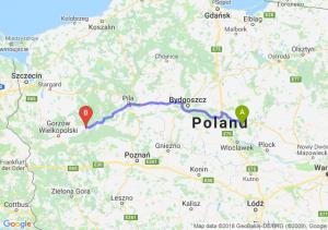 Trasa Lipno - Drezdenko