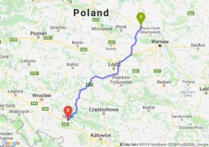 Trasa Płońsk - Opole