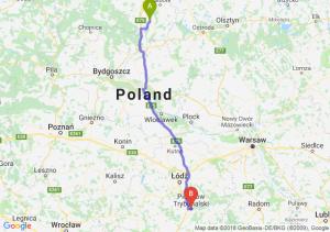 Trasa Gniew - Piotrków Trybunalski