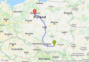 Trasa Tarnów - Białe Błota