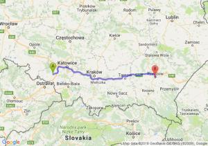 Trasa Rybnik - Rzeszów