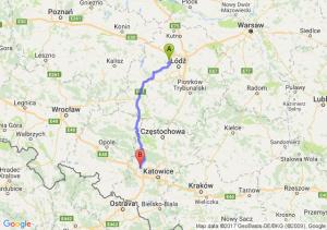 Trasa Aleksandrów Łódzki - Pyskowice