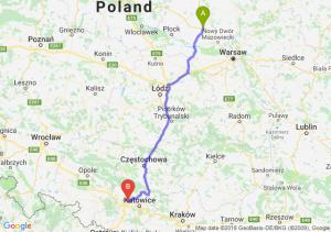 Trasa Płońsk - Zabrze