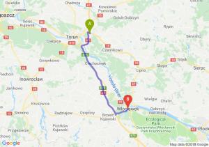 Trasa Lubicz Dolny - Włocławek