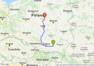 Trasa Tarnów - Płock