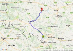 Trasa Racibórz - Kalisz