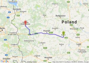 Trasa Konin - Gorzów Wielkopolski