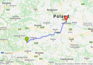 Trasa Głogów - Włocławek