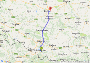 Trasa Bielsko-Biała - Brzeziny